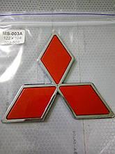 Эмблема MITSUBISHI  122х104 мм