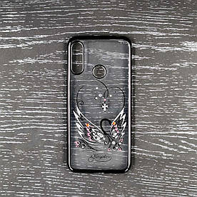 Чехол накладка для Huawei Honor 8A силиконовый Beckberg Breathe seria, Лебедь