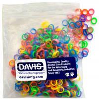 Davis (Дэвис) Neon ДЭВИС НЕОН резинка для шерсти, 500 шт х 0.6см