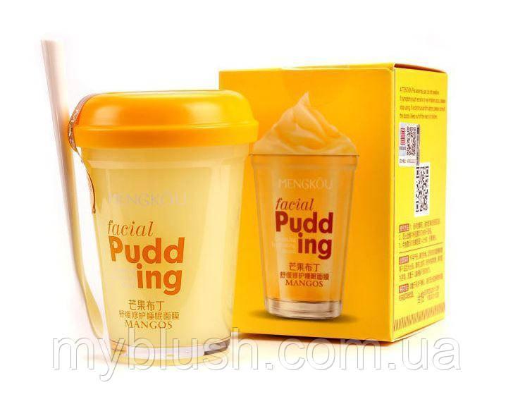 Маска-пудинг для лица MENGKOU Mangos Facial Pudding Индийское манго 100 g