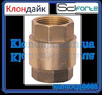 "Клапан обратный с латунным штоком SD Forte EURO 1 1/4"""