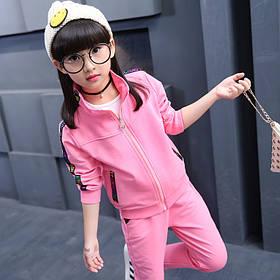 Детский костюм на девочку розовый