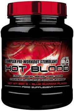 Предтренировочный комплекс Hot Blood 3.0 (820 g) Scitec Nutrition