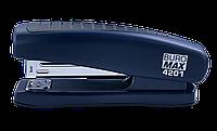 Степлер пластиковый Buromax 20 листов скобы №24/6 синий