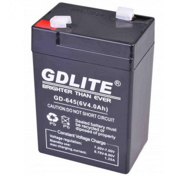 Аккумулятор GDLITE GD-645 6V4.0AH для различного вида продукции