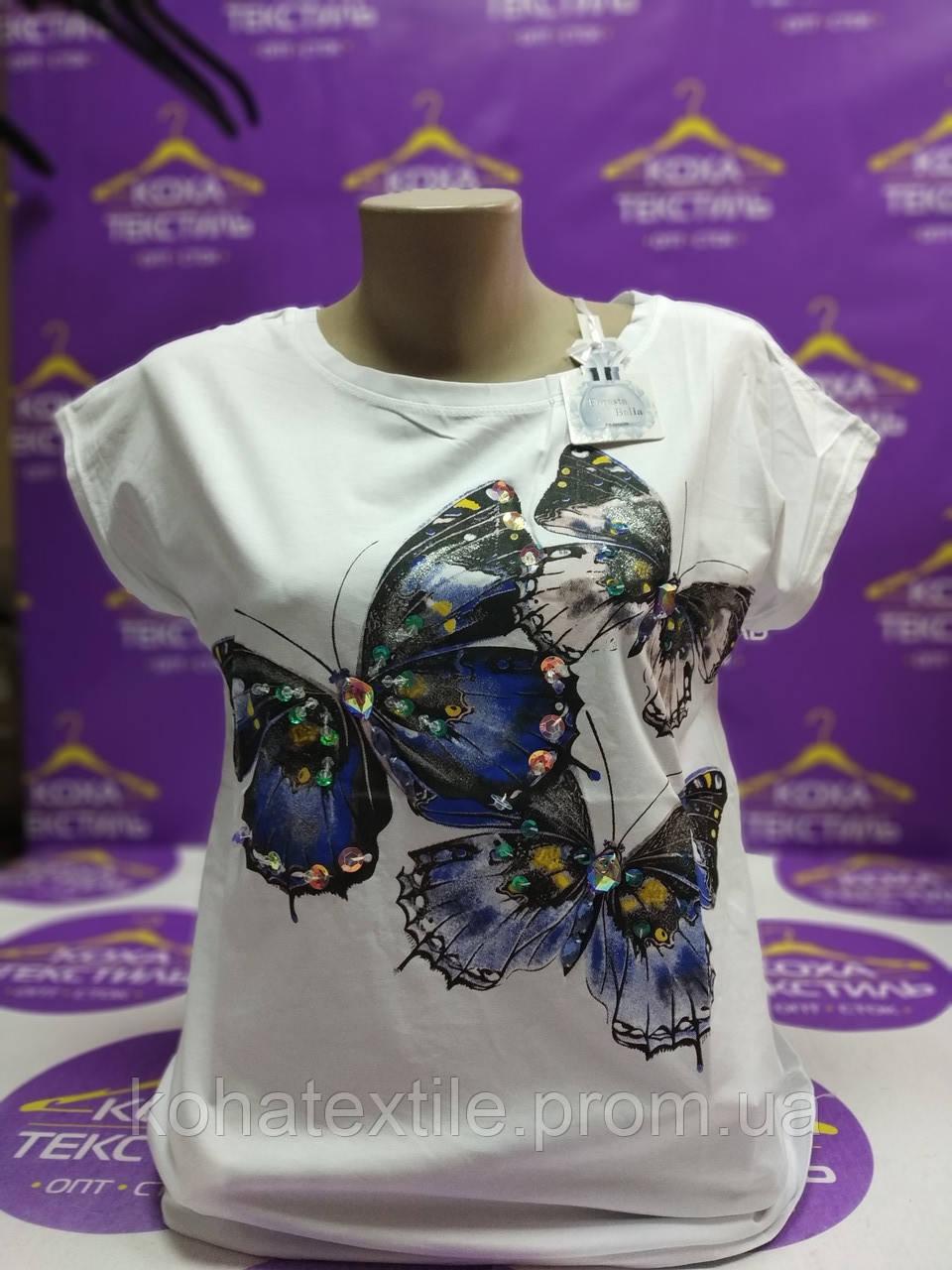 Женские футболки Lindsay Moda Италия 7 е\шт