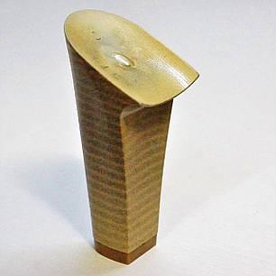 Каблук женский пластиковый 9518 беж Сталекс р.3-1  h-9,2-8,5 см., фото 2