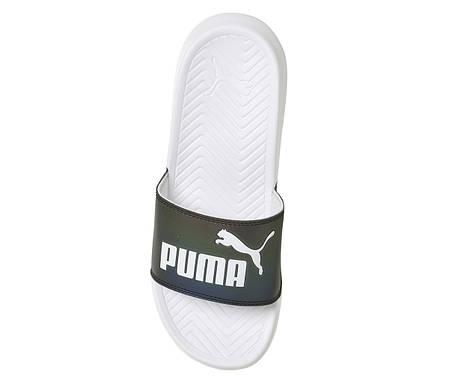 """Сланцы Puma """"Черные\Белые"""", фото 2"""