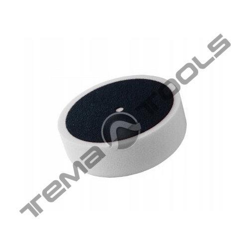 Круг поролоновый полировальный плоский POLAND 150 мм на липучке белый
