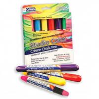Davis (Дэвис) Kaleidoscope Colors ДЭВИС КАЛЕДОСКОП ЦВЕТОВ красящий мелок для шерсти, волос, кожи, 6 цветов