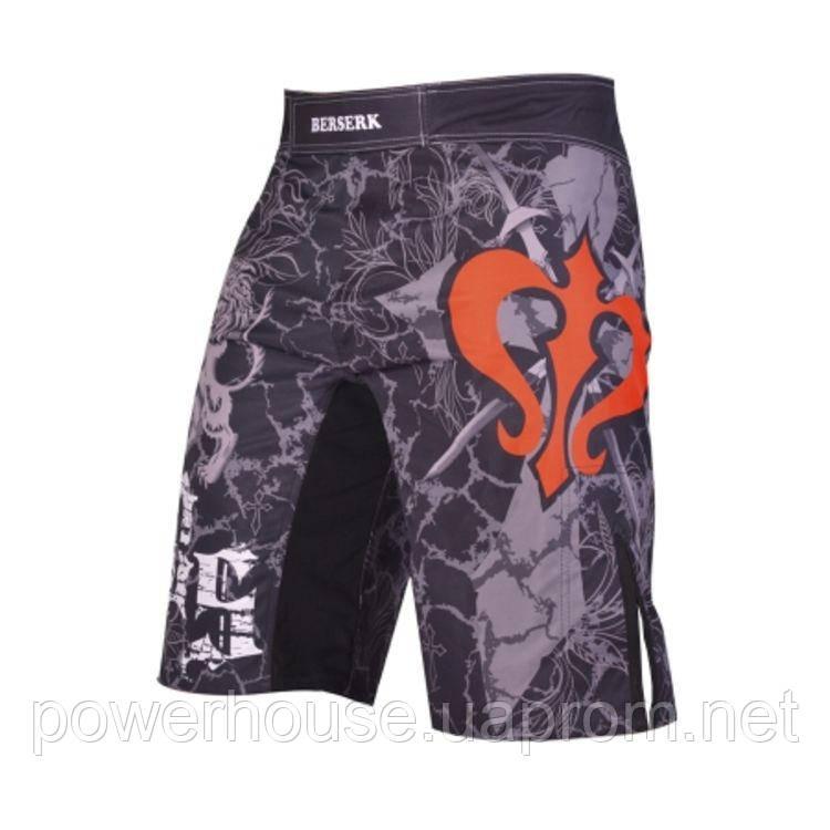 Шорты для ММА Berserk Sport MMA WARRIOR SPIRIT black