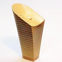 Каблук женский пластиковый 9517 беж р.1-4  h-8,6-9,7 см., фото 3