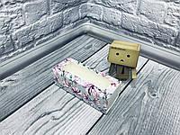 *50 шт* / Коробка для макаронс / 140х55х45 мм / печать-Магнолия / окно-обычн / лк / цв, фото 1