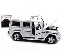 Игрушка машина модель Мерседес Бенц (Mercedes-Benz).Железные игрушечные машинки Гелендваген (Гелик)от Автопром, фото 7