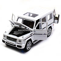 Игрушка машина модель Мерседес Бенц (Mercedes-Benz).Железные игрушечные машинки Гелендваген (Гелик)от Автопром, фото 5