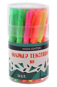 Маркер Highlighter YES Neon, 5 цв.
