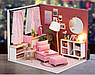 """Кукольный домик своими руками DIY """"Комната отдыха для принцессы"""" (арт. DR007), фото 2"""