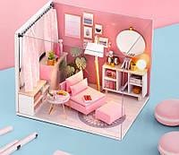 """Кукольный домик своими руками DIY """"Комната отдыха для принцессы"""" (арт. DR007)"""