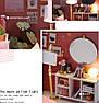 """Кукольный домик своими руками DIY """"Комната отдыха для принцессы"""" (арт. DR007), фото 5"""