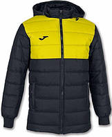 Куртка зимняя Joma URBAN II 101292.109 черно-желтая