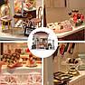 """Ляльковий будиночок своїми руками DIY """"Кафе-кондитерська"""" (арт. DR008), фото 5"""