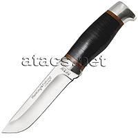 Нож охотничий, серия Hunting&Fishing 2288 (рукоять - кожа наборная)