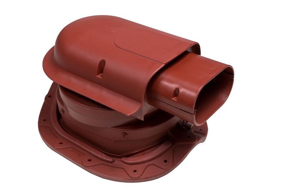 Solar Muotokate - проходной элемент вывода кабелей VILPE. Красный