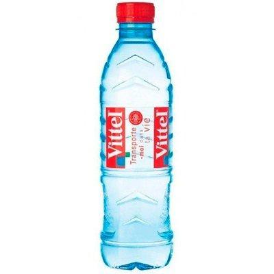 Вода Vittel (Витель), 0,5 литра (слабогазированная)