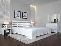 Кровать деревянная Домино ТМ Арбор Древ бук, 1800х2000, белый