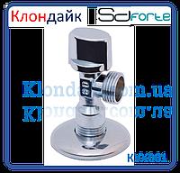Кран шаровый угловой хромированный Арко SD Forte 3/8*1/2