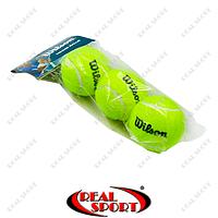 Мяч для большого тенниса Wilson Volley W-155 (3шт в пакете)