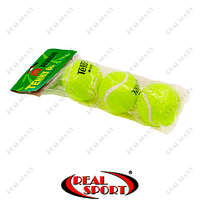Мяч для большого тенниса Teloon T801 (3шт в пакете)