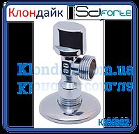 Кран шаровый угловой хромированный Арко SD Forte 1/2*1/2