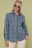 Блуза ПАЛЬМИРА-Б Д/Р ТМ Glem 50-54 размеры