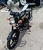 Мотоцикл черный матовый SP 110С-2С
