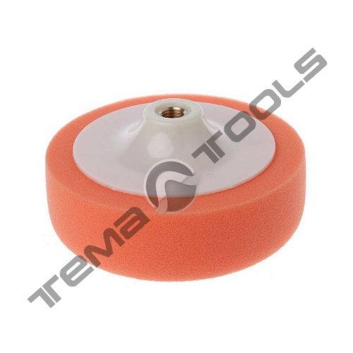 Круг полировальный поролоновый 150 мм М14 оранжевый