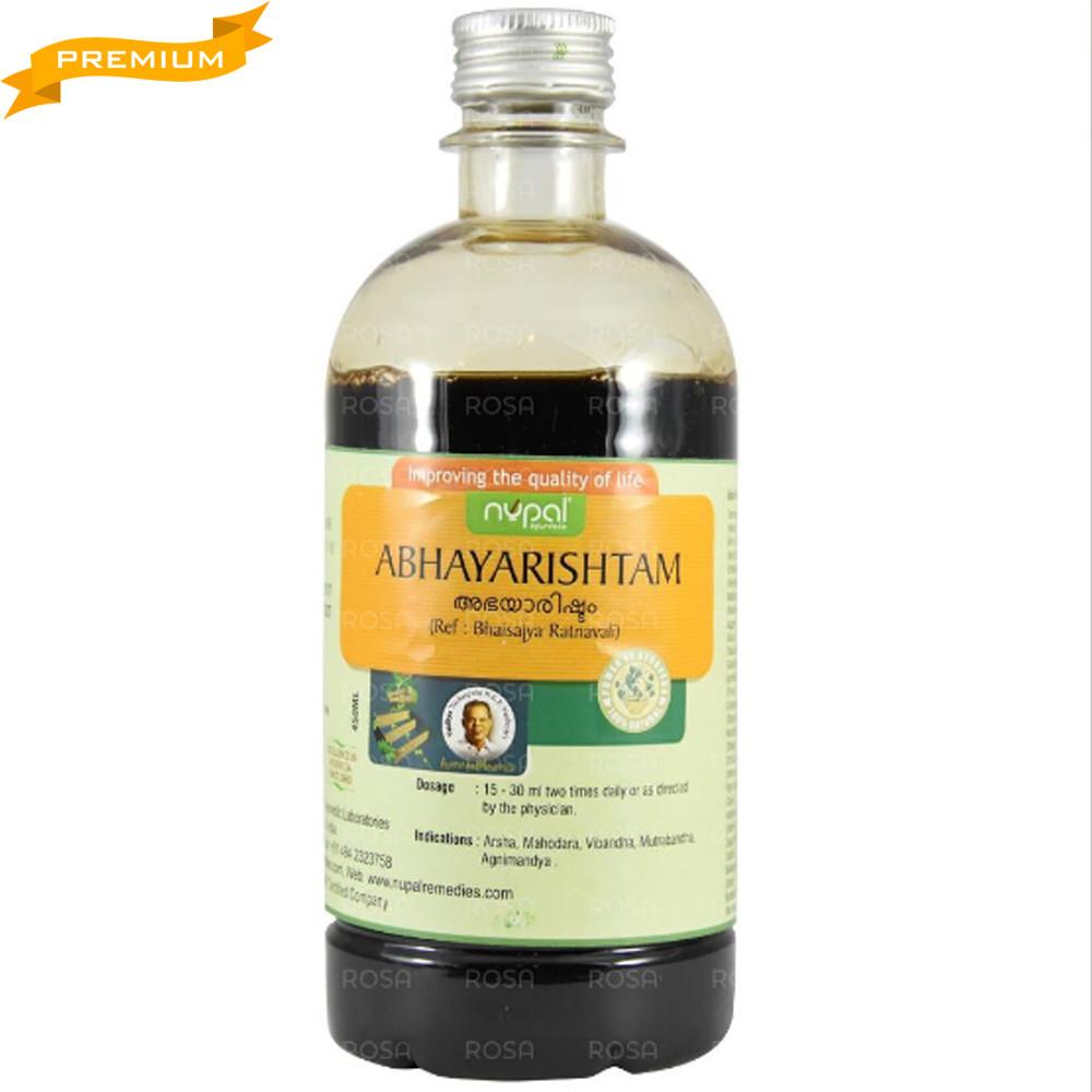 Абхая Аришта (Abhyarishtam, Nupal) тонік для травлення, 450 мл - Аюрведа преміум якості