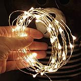 LED Гірлянда Роса 10 метрів (різні кольори), фото 4