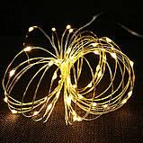 LED Гірлянда Роса 10 метрів (різні кольори), фото 9