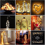 LED Гірлянда Роса 10 метрів (різні кольори), фото 6