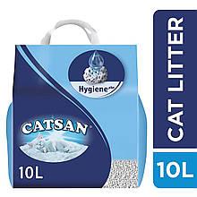 Наповнювач Catsan Hygiene plus 5,1 кг (10 л) для туалетів для кішок