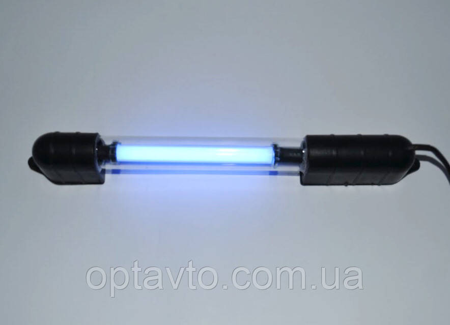 Синяя неоновая лампа в салон автомобиля, багажник, на днище 28 см