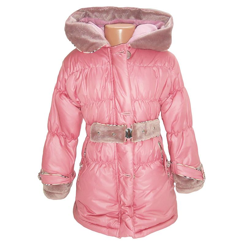 """Детская зимняя куртка для девочки """"Onbuco"""" 8-9-10 лет"""