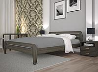 Кровать двуспальная ТИС Нове 1 бук лак