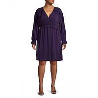 Женское  оригинальное фиолетовое платье Michael Kors