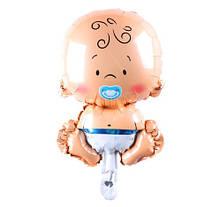 Воздушный шарик для мальчика (без гелия) - 35см