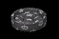 Лежак (лежанка) для домашних животных Мур-Мяу Сиеста Серый (745445224g)