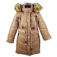 """Пальто для дівчинки р.116-152 КД-58 """"Микаэлла"""" 2кольор."""