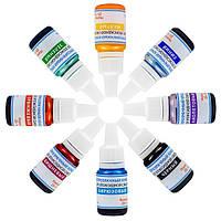 Набор светопрозрачных красителей для эпоксидной смолы, 8 цветов х 10г