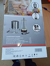 Электрошашлычница Grunhelm GSE10 Шашлычница электрическая Grunhelm GSE 10 Электро шашлычница Грюнхел, фото 2